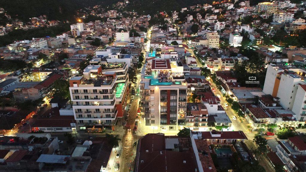 Fotografía aérea con Drone en Puerto Vallarta